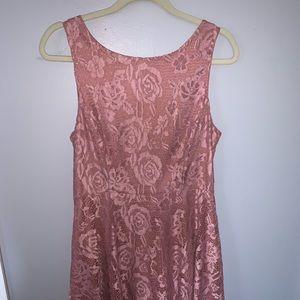 Flower lace dress never worn!